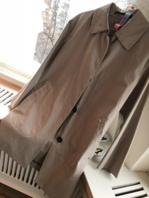 Short Coat beige cotton
