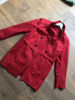 Esprit Trench Coat dark red-brick red