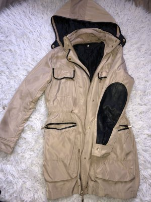 Zara Trenchcoat zwart-licht beige