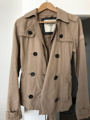 Abercrombie & Fitch Trench Coat beige