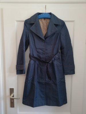 H&M Divided Trenchcoat bleu