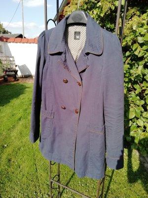 Pimkie Trench Coat dark blue