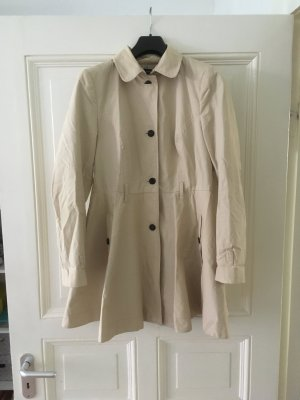 Zara Trench Coat multicolored cotton