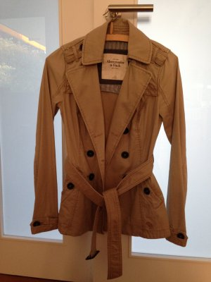 Trenchcoat Abercrombie Fitch beige in xs