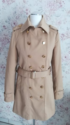 Trenchcoat beige/gold