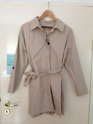 Trenchcoat, beige, Gr. M (40 / 42 / 44 / L / XL), Zara