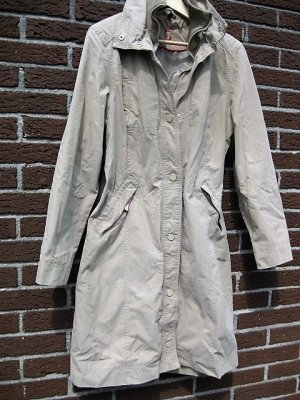 Trenchcoat beige Größe 40