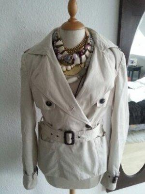 Trenchcoat beige Größe M von Zara