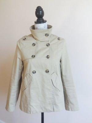 Trenchcoat beige / kurzer Mantel
