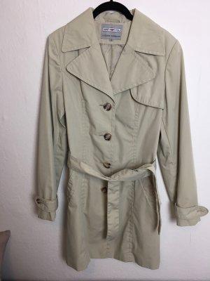 Trenchcoat beige sand Gr. 40 Mantel elegant