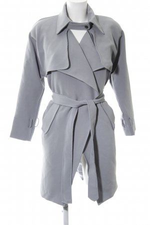 Trench Coat pale blue classic style