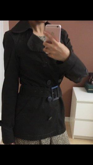 Trenchcoat, braun, Größe XS/34