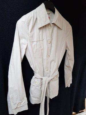 Esprit Veste mi-saison blanc cassé-beige clair tissu mixte