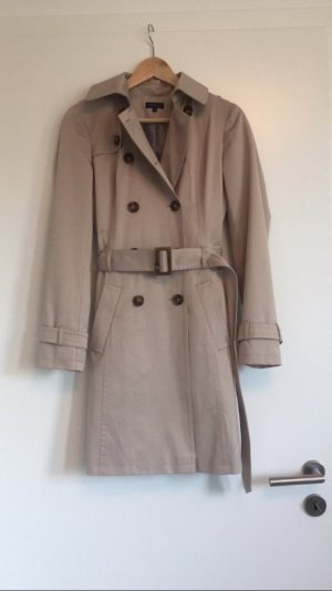 Darling Harbour Trench Coat oatmeal-beige polyester