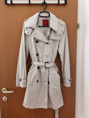 s.Oliver Trench Coat oatmeal