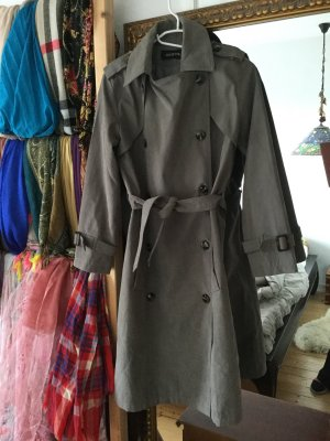 Trench Coat grey brown-taupe