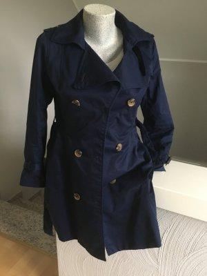 Trenchcoat, H&M, dunkelblau, top Zustand