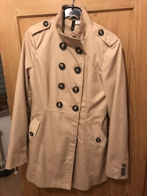 Trenchcoat in creme/beige