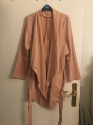 Trenchcoat in Puder rose