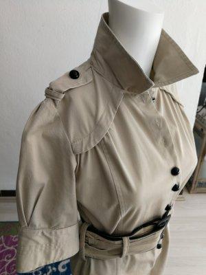 Robe manteau beige clair