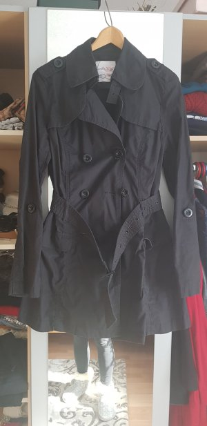 Colins Trench Coat black