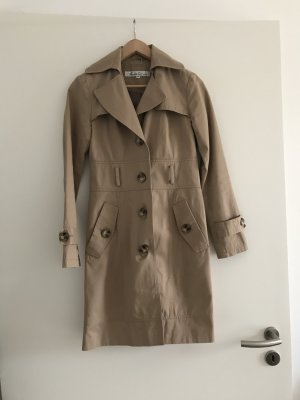 Trenchcoat Mantel beige Kenneth Cole