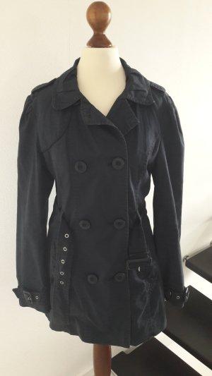♡ Trenchcoat Mantel dunkelblau ♡ Details ♡