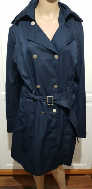 Trenchcoat mantel jacke dunkelblau