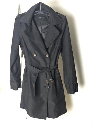Trenchcoat Mantel schwarz Frühjahr wie NEU