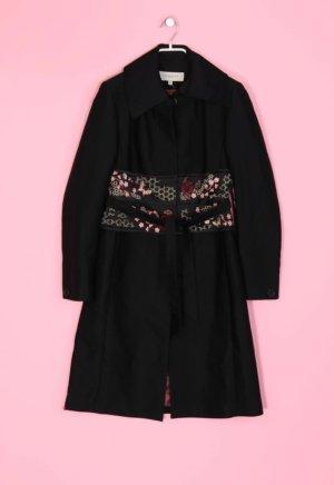 trenchcoat Mantel von Karen millen gr. 38 schwarz Asia Style