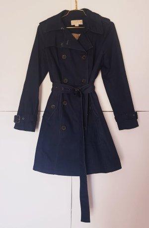 Michael Kors Trenchcoat donkerblauw