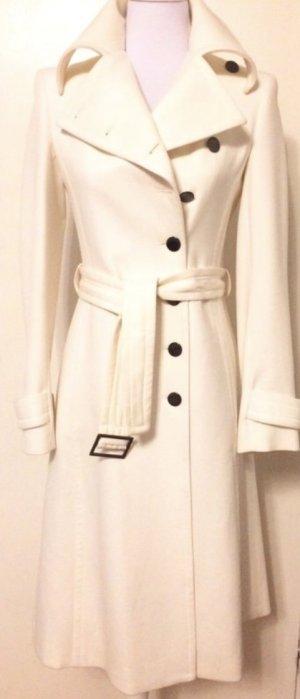 Trench Coat white cotton