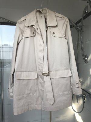 Massimo Dutti Trenchcoat beige clair-crème