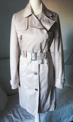 Trenchcoat original Lipsy neu xs/34 champagner lookbook