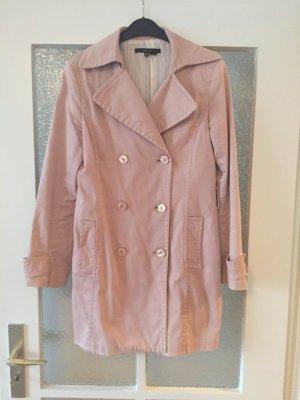Trenchcoat rosa M Zara