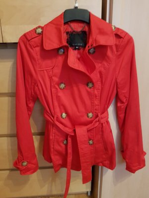 Amisu Trench Coat red