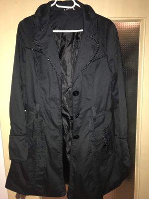 New Look Veste longue noir