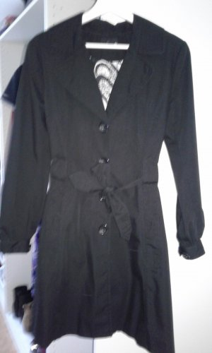 H&M Divided Trenchcoat zwart