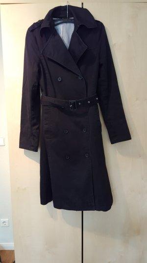 Trenchcoat schwarz von H&M