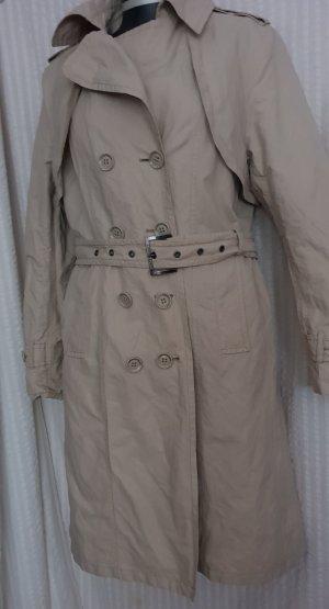 Trenchcoat,Übergangsmantel Frühlingsmantel  Gr.42,beige