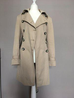 Avant Première Trench Coat beige cotton