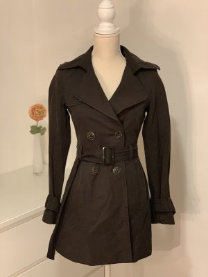 United Colors of Benetton Trenchcoat gris anthracite-gris foncé