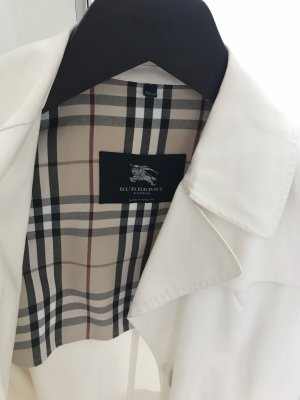 Burberry Long Jacket natural white-white