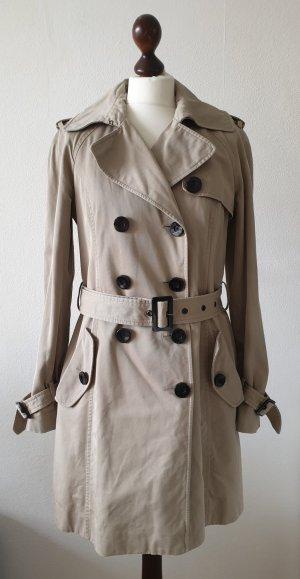 Trenchcoat von Esprit * Gr.38 *  beige * mit Gürtel * klassisch