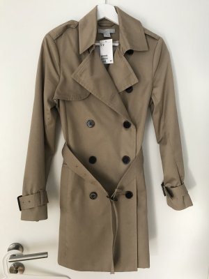 H&M Trench Coat sand brown-light brown