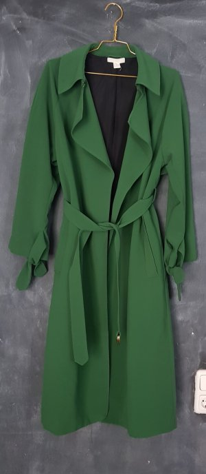 H&M Trenchcoat groen