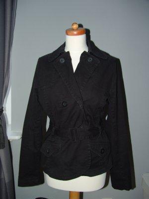 °°°Trenchcoat von H&M,schwarz,Military-Jacket,Gr40,M°°°