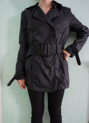 John Baner Trench Coat black