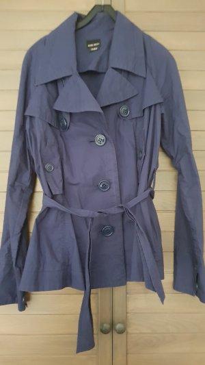 Miss Sixty Trenchcoat bleu-bleu foncé