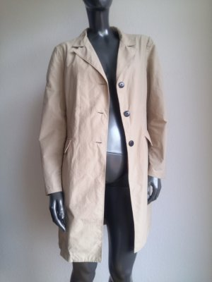 Opus Trench Coat beige cotton
